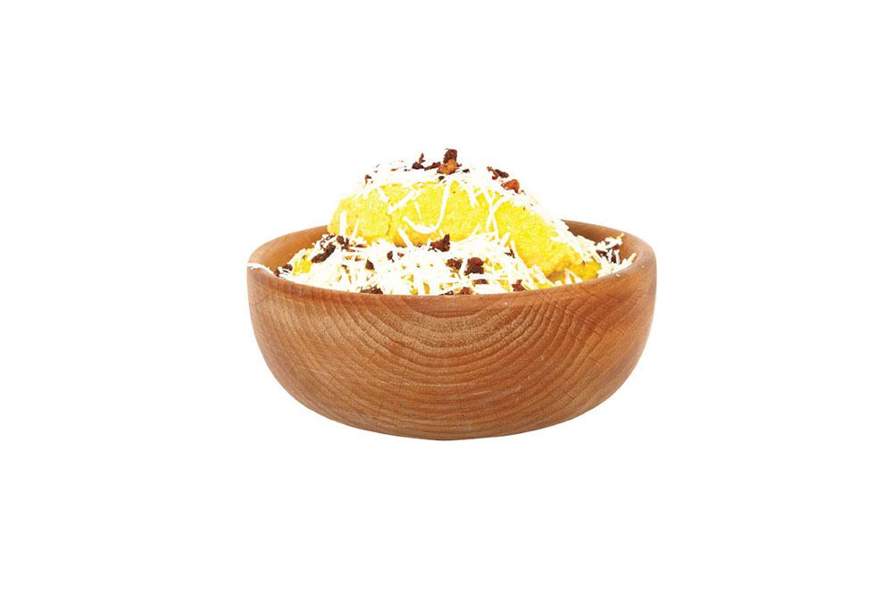 Bowl for corn porridge