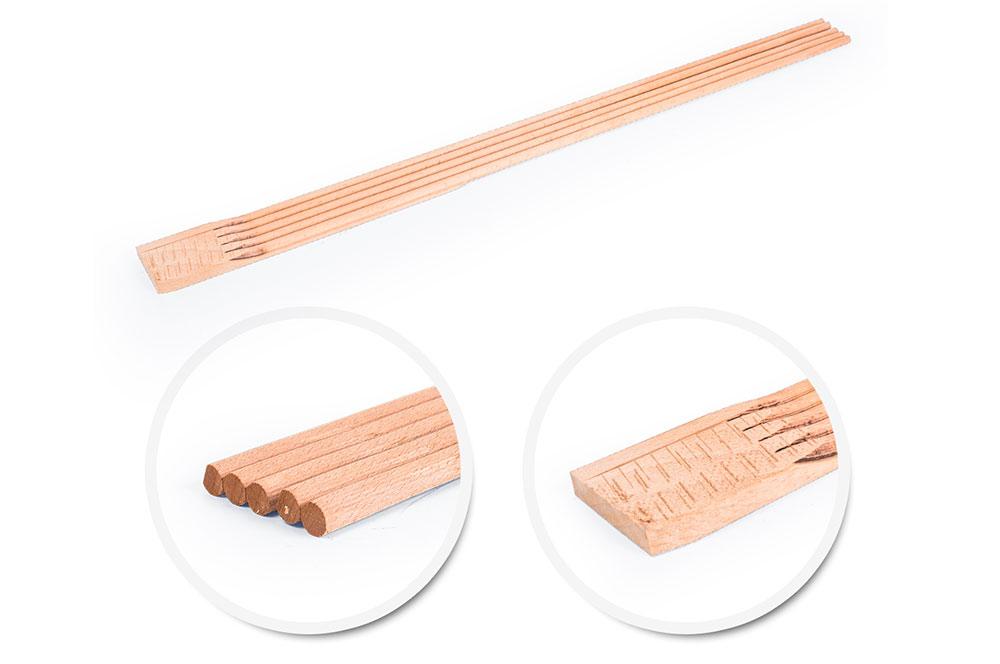 Wooden tips